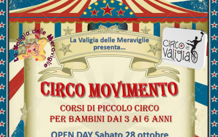 Circo in movimento – Open Day